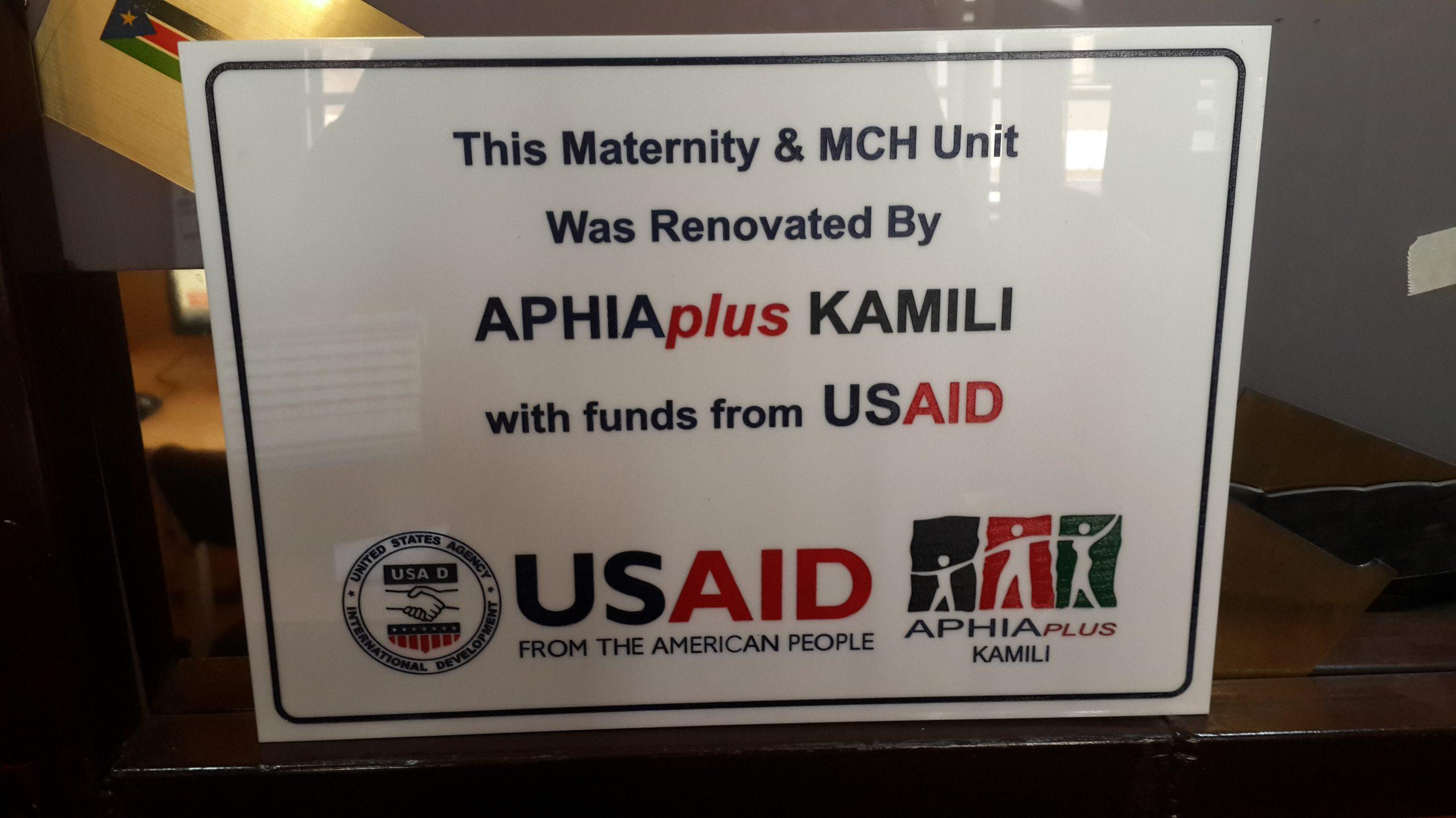 USAID Signage